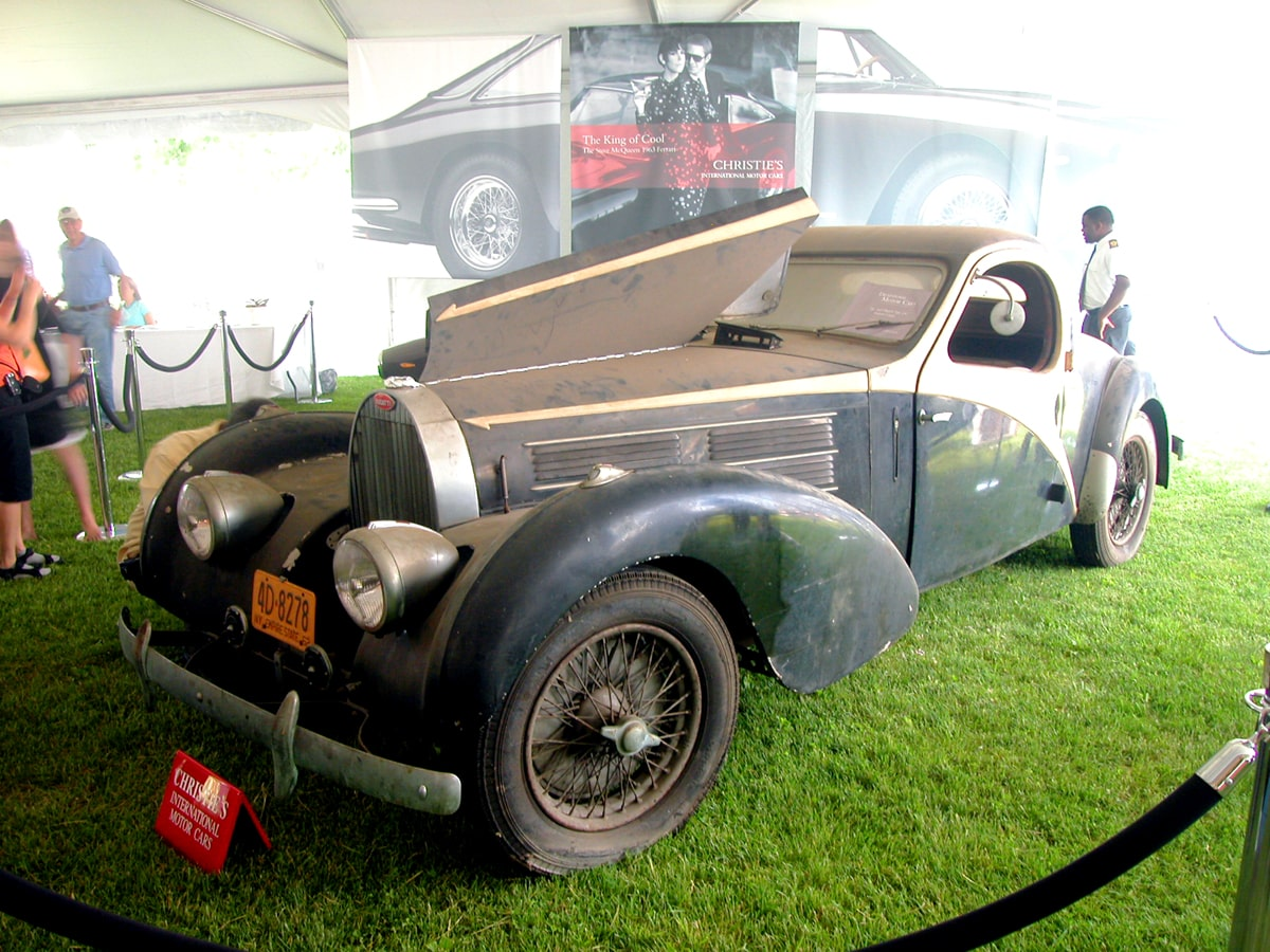 Bugatti Type 57 C Atalante copyright 2007 R.S. Carey