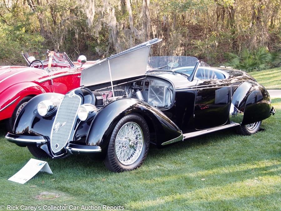 Auction Cars on the Amelia Island Fairway – Rick Carey\'s Collector ...