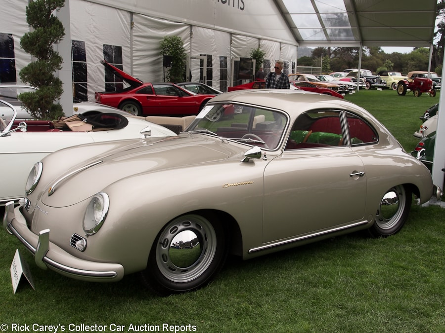 RICK8360_092_Porsche_1955_356 1500 Continental_Coupe_54215_900 bonhams, quail lodge, august 18, 2017 rick carey's collector car 1954 Mercury Monterey at pacquiaovsvargaslive.co
