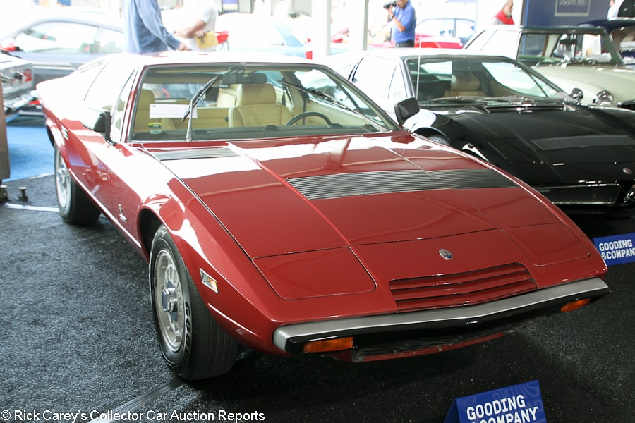 Lot 35 1977 Maserati Khamsin Coupe Body By Bertone S N Am120us1140 Engine Am1151049 Rosso Cordoba Beige Leather Estimate 140 000 180
