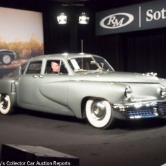 Preston Tucker's Tucker Torpedo, sold for $1,792,500.