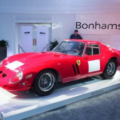 Ferrari 250 GTO s/n 3851GT sold by Bonhams at Quail Lodge in 2014 for a record $38,115,000